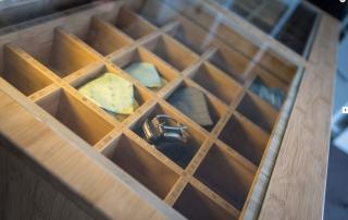 Tie or jewellery drawers