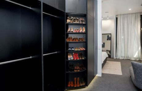 Cabinetmakers Choice revolving shoe rack