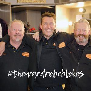 The Wardrobe Blokes in the Geelong Wardrobe Showroom