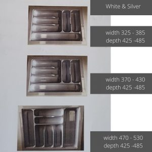 cutlery trays Geelong sizes