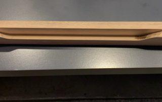 long wooden handle