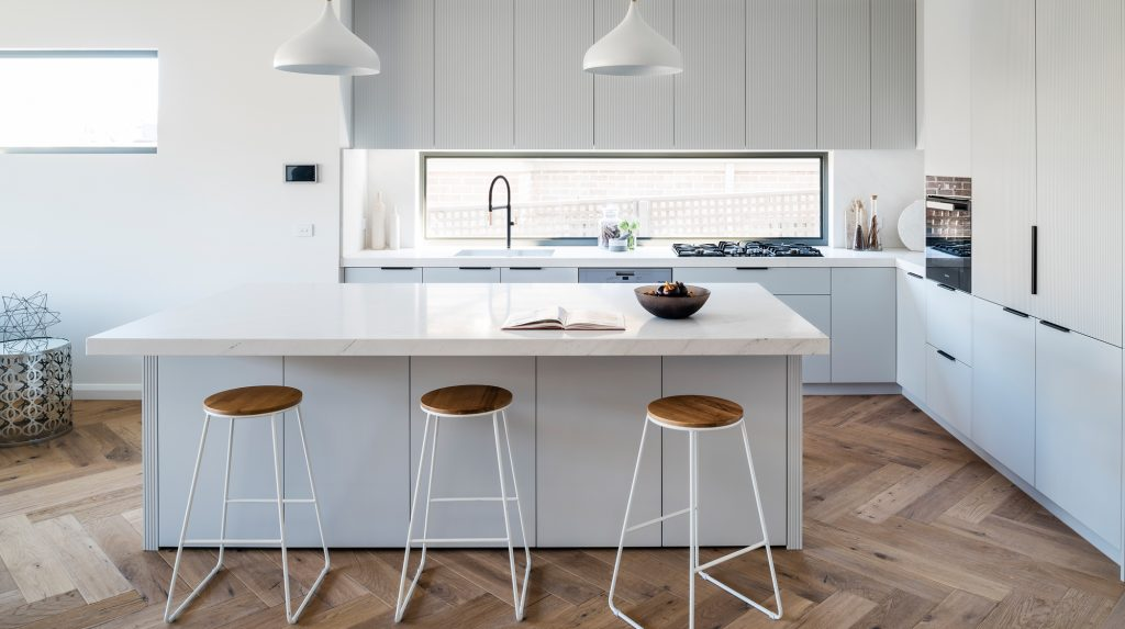 Scandi style is inspired by neutral colours and wooden tones of the landscape.