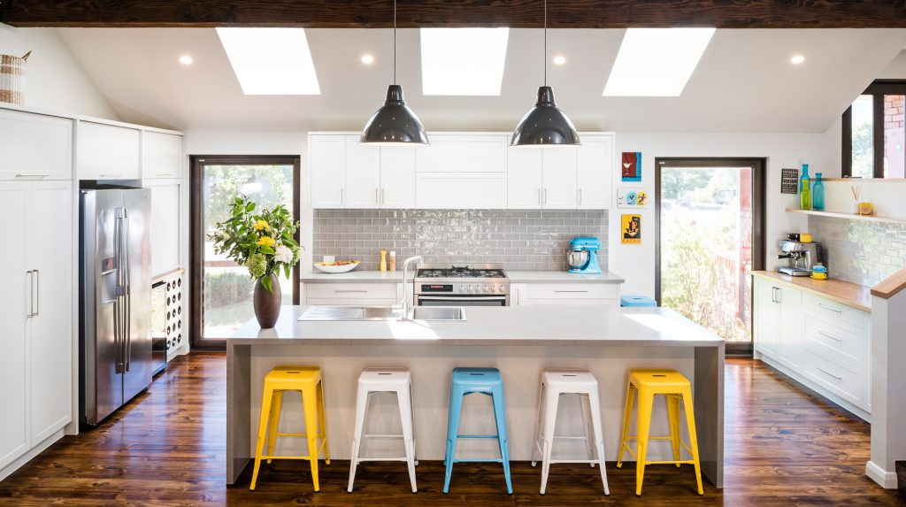 Modern farmhouse style creates feelings of warmth and comfort